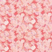 Moda Canyon by Kate Spain - 4312 - Succulent, Floral in Coral - 27221 16 - Cotton Fabric